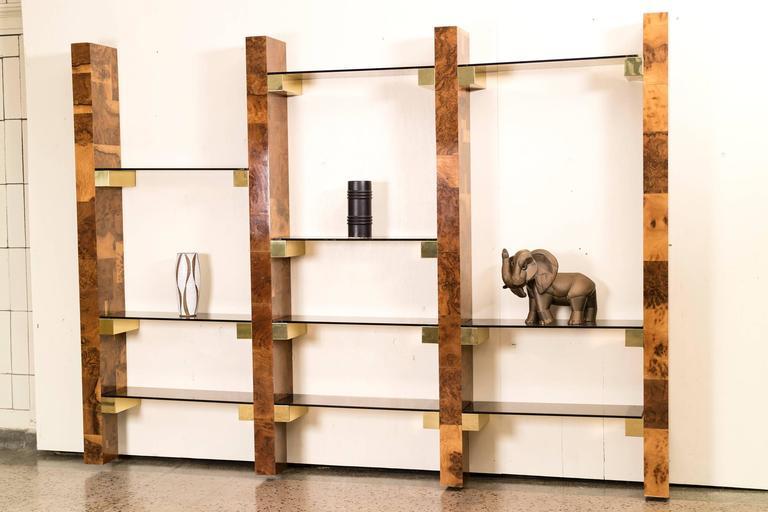 Paul Evans Wall-Mount Book Shelf For Sale 1