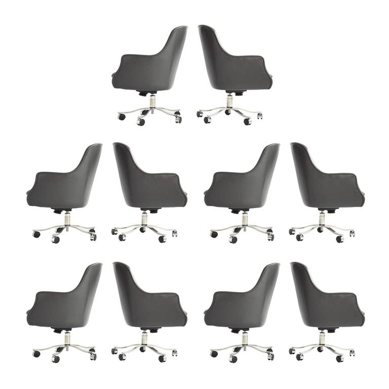 Nicos Zographos High Back Executive Chairs