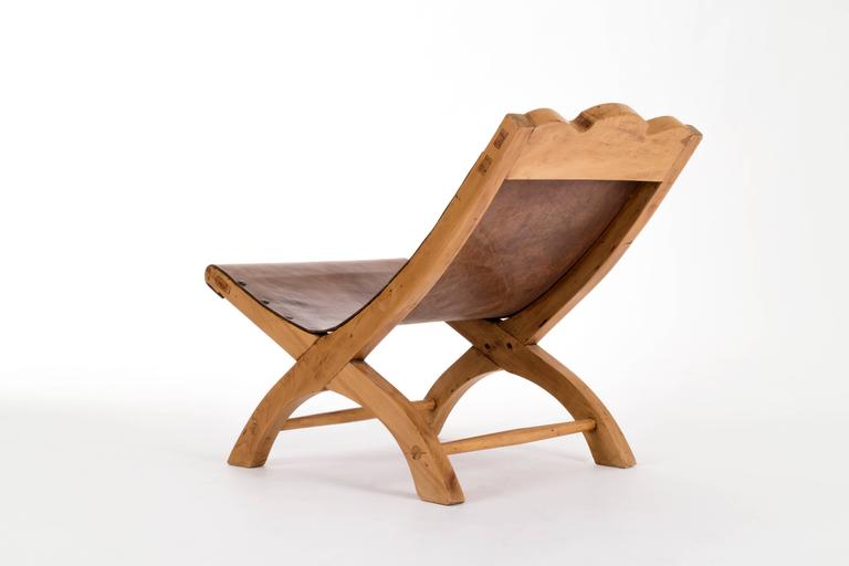 Mid-Century Modern Clara Porset Butaque Lounge Chair For Sale