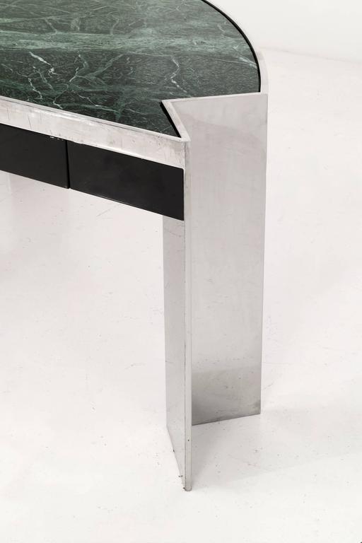American Leon Rosen Mezzaluna Desk for Pace For Sale