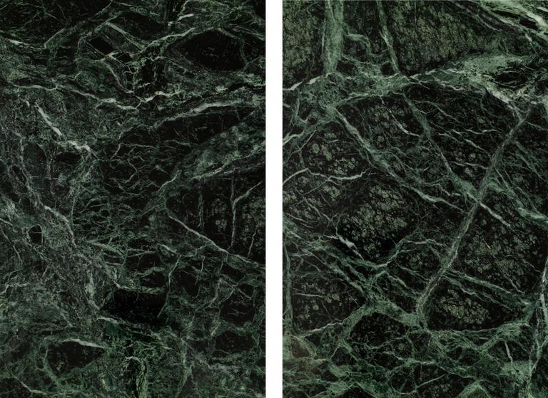 Marble Leon Rosen Mezzaluna Desk for Pace For Sale