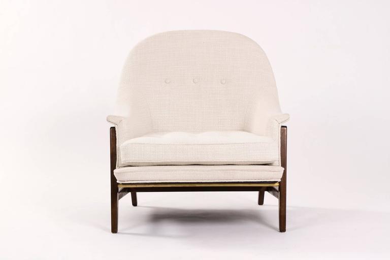 Edward Wormley Janus Lounge Chair and Ottoman 3