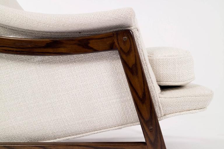 Edward Wormley Janus Lounge Chair and Ottoman 6