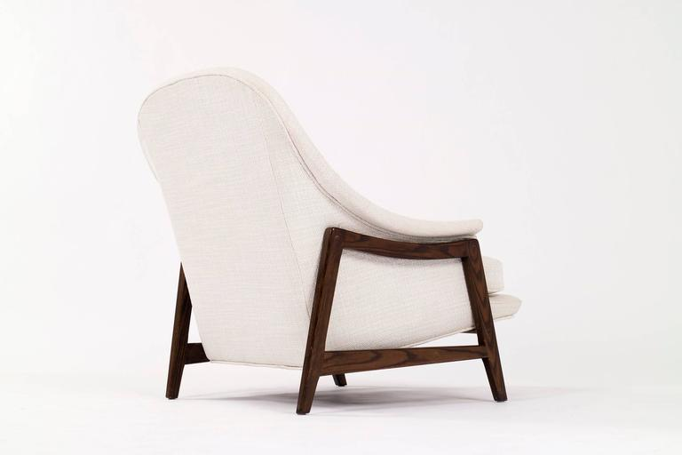 Edward Wormley Janus Lounge Chair and Ottoman 4