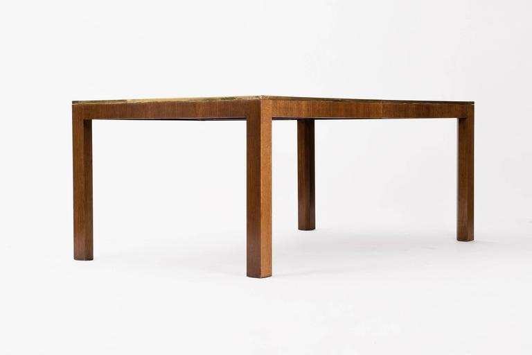 Mid-Century Modern Baker Dining Table For Sale