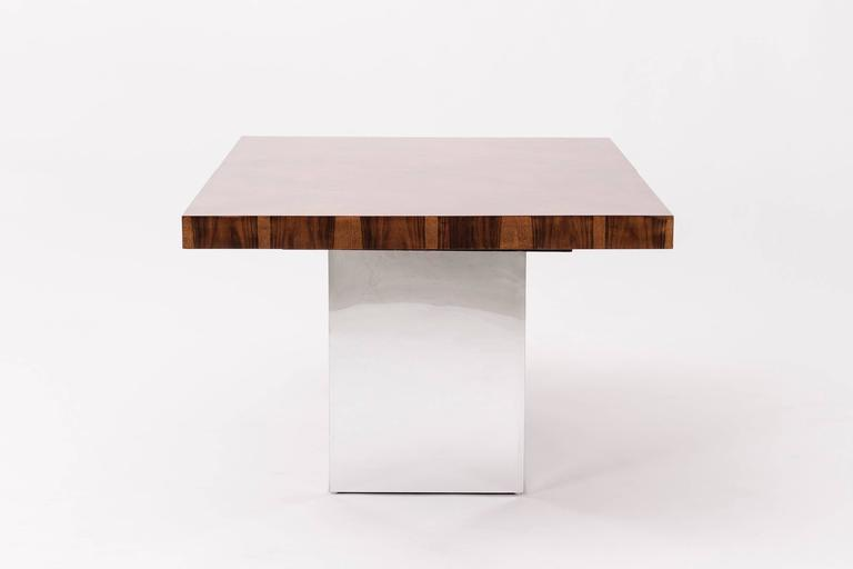American Milo Baughman Dining Table For Sale
