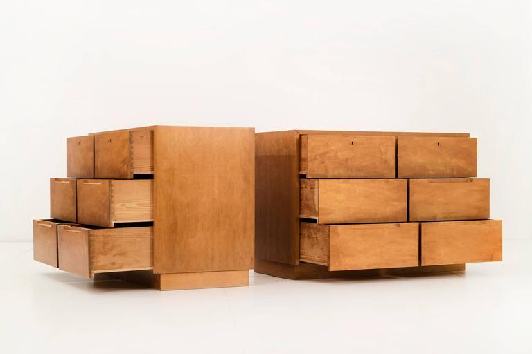 Mid-Century Modern Pair of Alvar Aalto Cabinets for Finsven