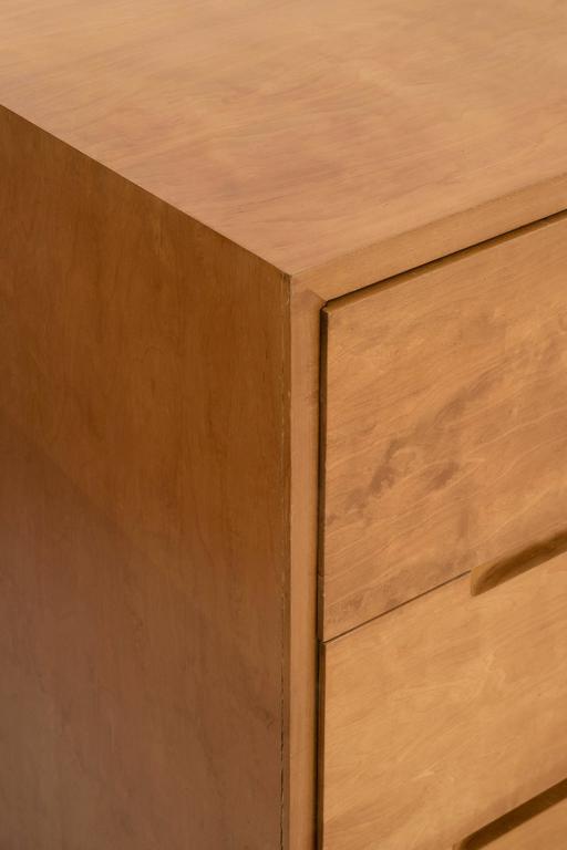 Birch Pair of Alvar Aalto Cabinets for Finsven