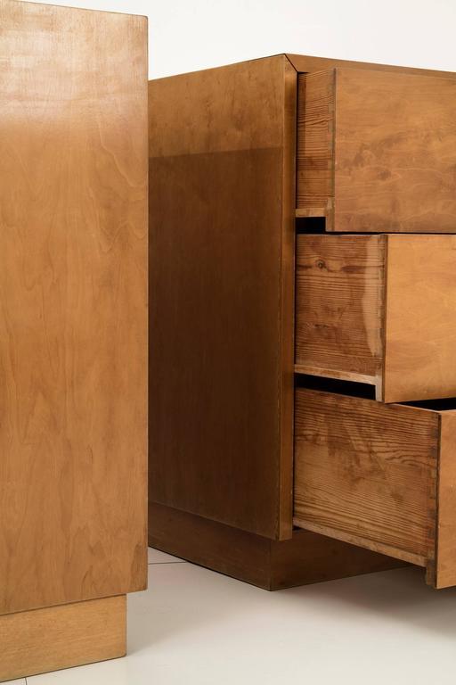 Mid-20th Century Pair of Alvar Aalto Cabinets for Finsven