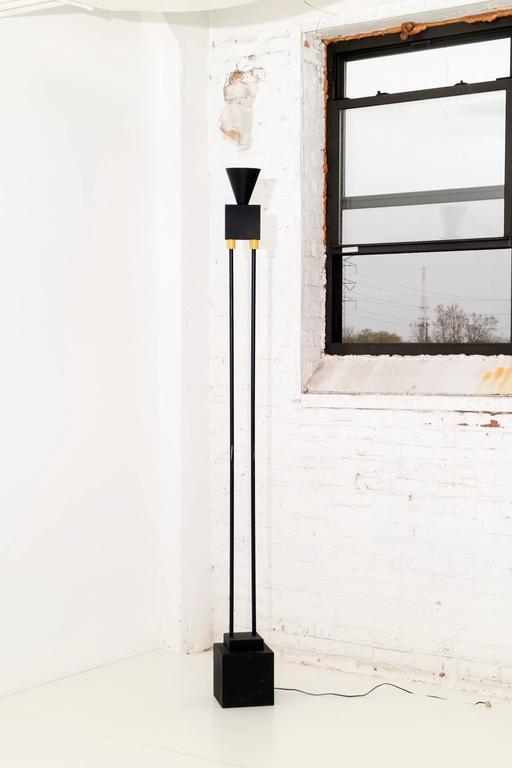Sottsass Memphis floor lamp.