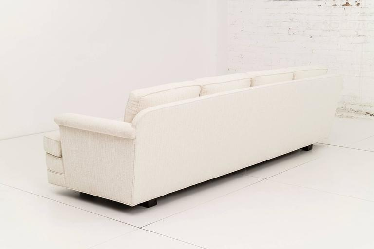 Mid-20th Century Pair of Edward Wormley Paddle Arm Sofas for Dunbar For Sale