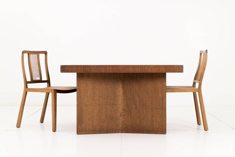 American Frank Lloyd Wright Partners Desk For Sale