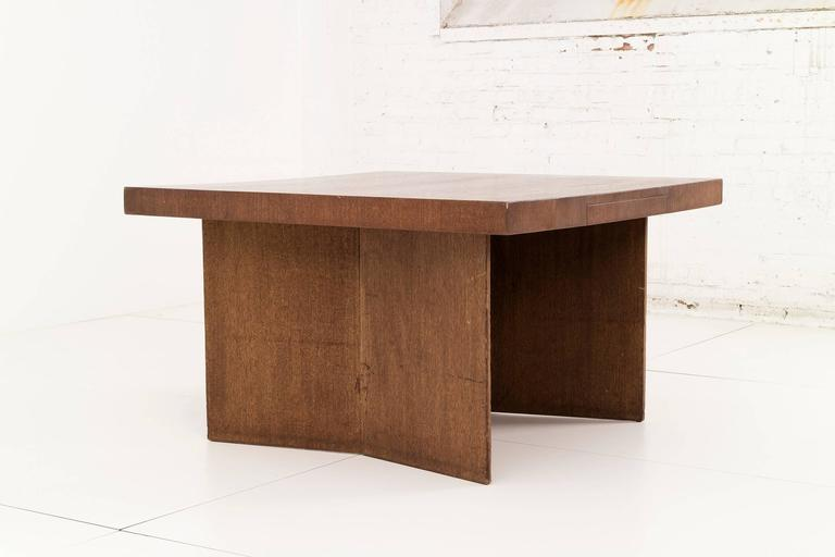Mid-Century Modern Frank Lloyd Wright Partners Desk For Sale