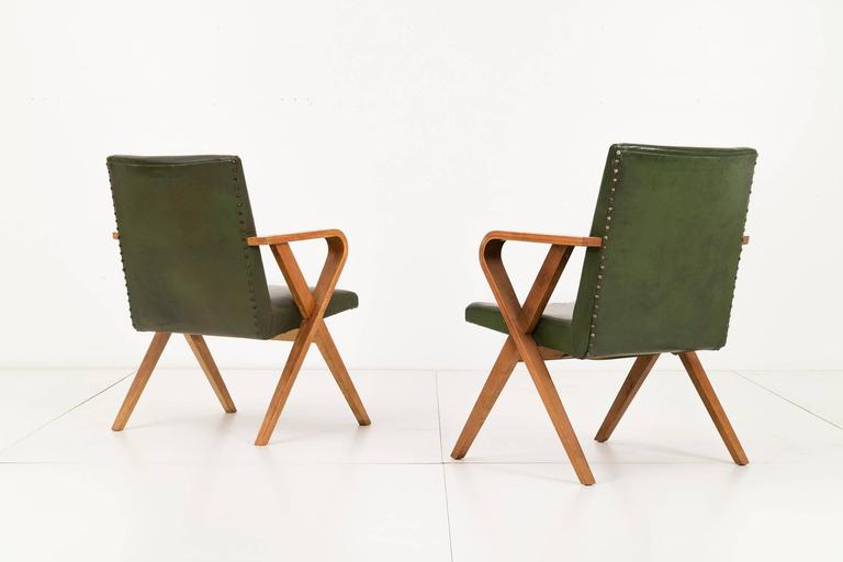 Pair of Henry Glass Armchairs 4
