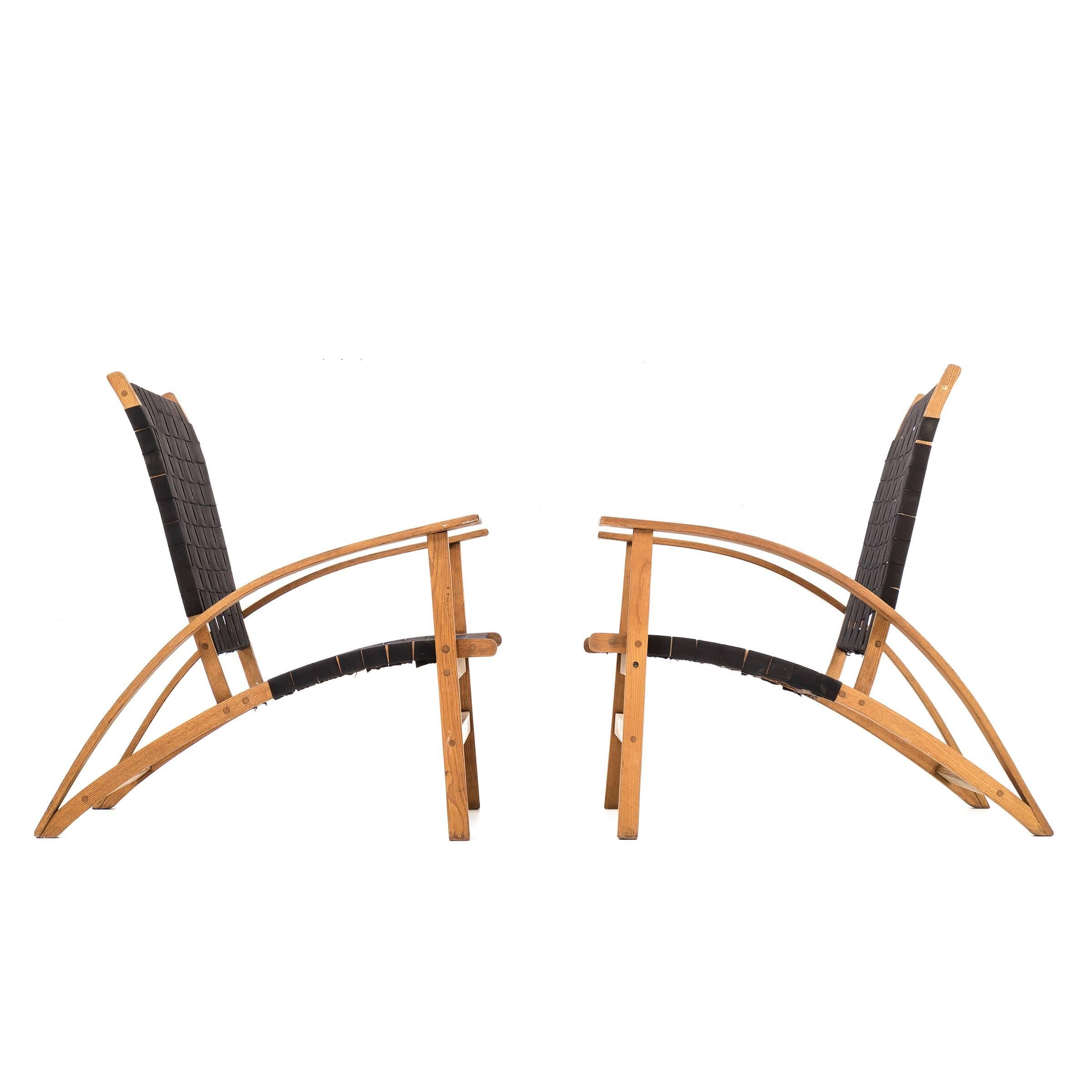 "Pair of Carl Koch ""Sno-Shu"" Chairs"