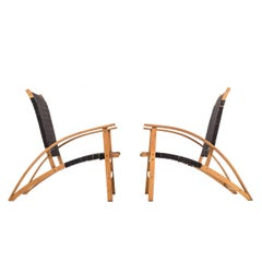 "Pair of Carl Koch ""Sno-Shu"" Chairs"