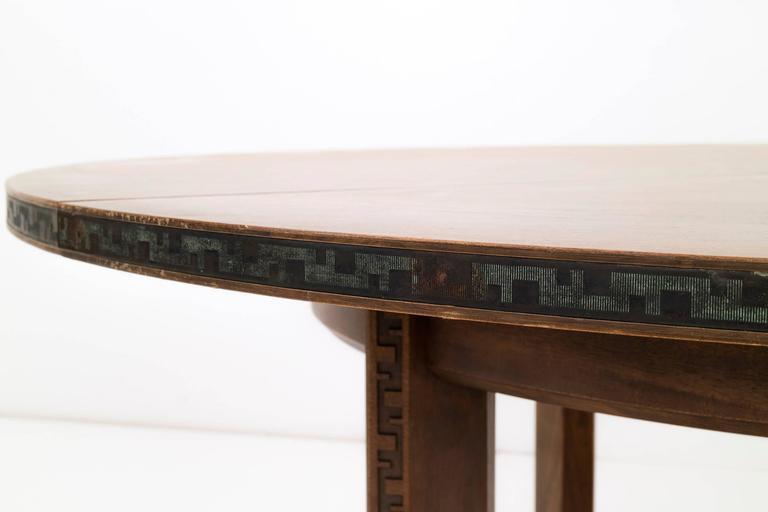Frank Lloyd Wright Taliesin Table 7