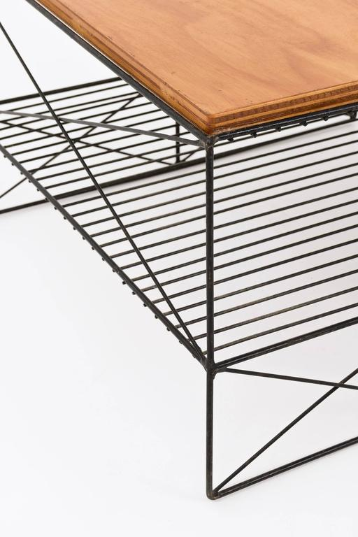 Pair Of Tables In The Style Of Charles And Ray Eames For