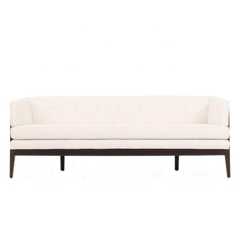Edward Wormley Curved Bracket Back Sofa For Sale At 1stdibs