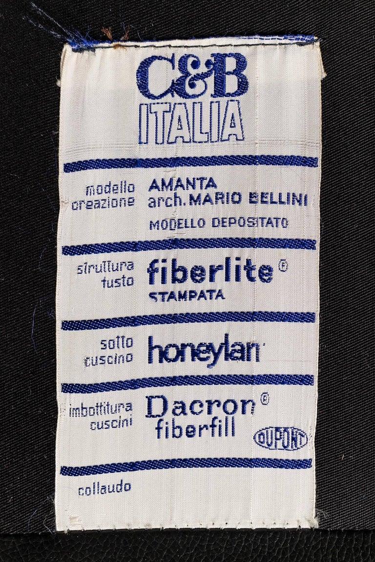 Mario Bellini Amanta Sofa for C&B Italia 10
