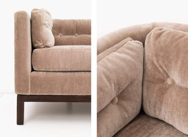 Roger Sprunger Curved Back Sofa for Dunbar For Sale 1