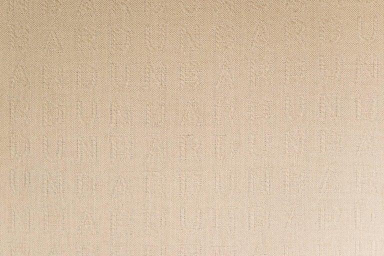 Roger Sprunger Curved Back Sofa for Dunbar For Sale 3