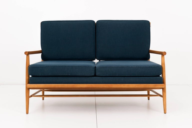 Mid-Century Modern Paul McCobb Settee For Sale