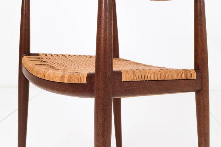 Set of Eight Hans Wegner Armchairs For Sale 1