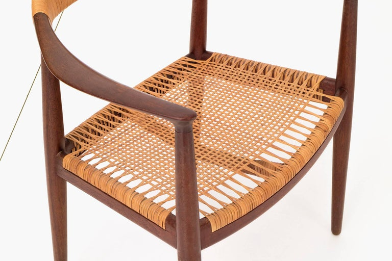 Mid-20th Century Set of Eight Hans Wegner Armchairs For Sale