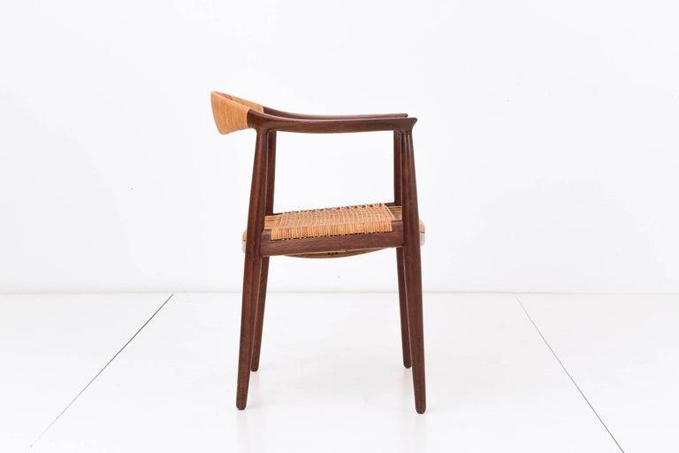 Danish Set of Eight Hans Wegner Armchairs For Sale