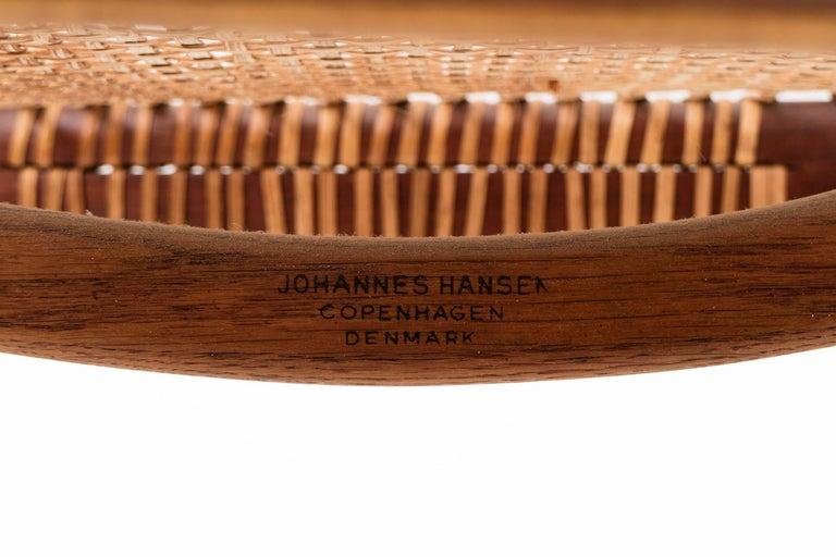 Set of Eight Hans Wegner Armchairs For Sale 2