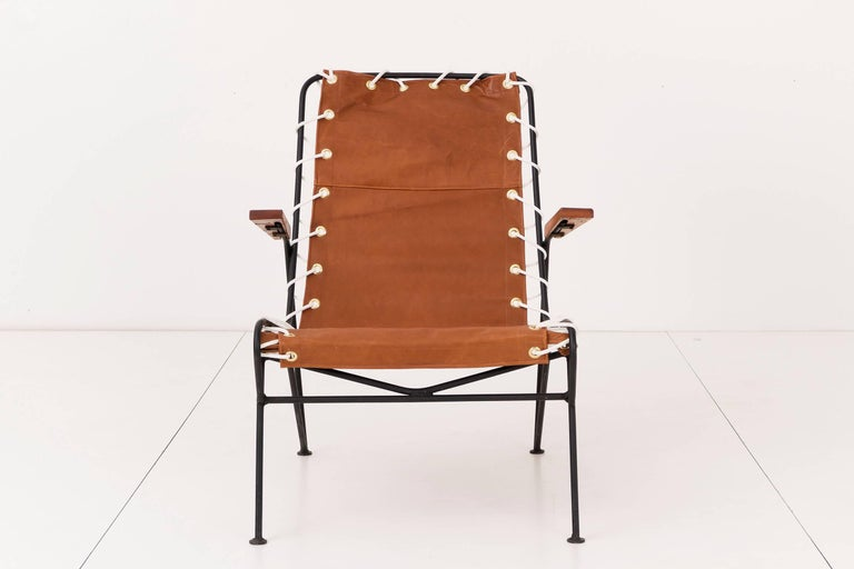 Pair of Sling Lounge Chairs by Pipsan Saarinen Swanson 5