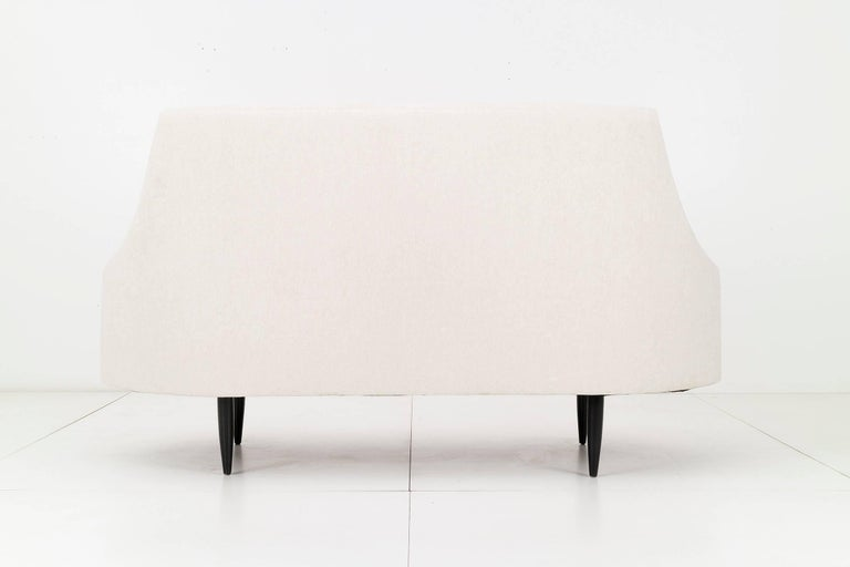 Turned Adrian Pearsall Settee For Sale