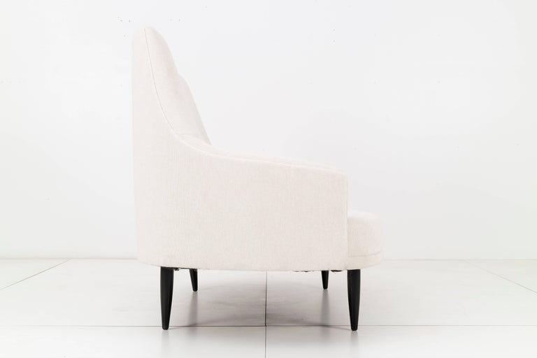 Mid-Century Modern Adrian Pearsall Settee For Sale