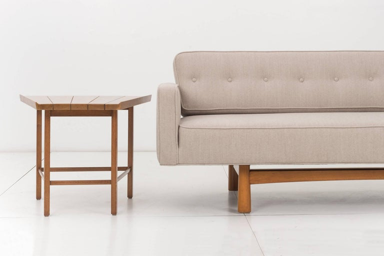 Edward Wormley for Dunbar Gondola Style Sofa For Sale 1