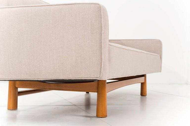 Edward Wormley for Dunbar Gondola Style Sofa For Sale 2