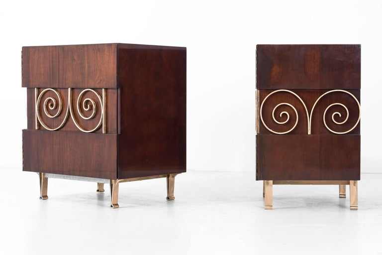 Edmund Spence Pair of End Tables or Nightstands 5