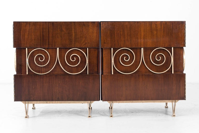 Edmund Spence Pair of End Tables or Nightstands 8
