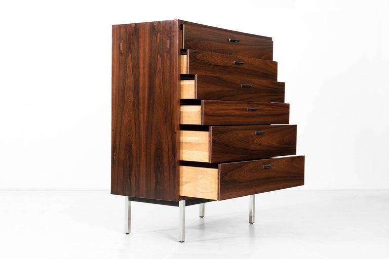 American Harvey Probber Rosewood Dresser For Sale