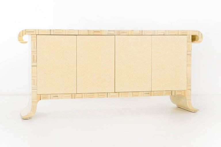 Mid-Century Modern Credenza by Alessandro for Baker, circa 1980 For Sale
