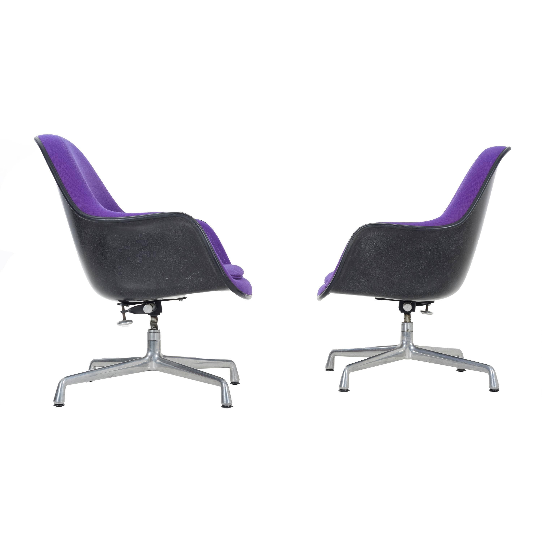 Purple Herman Miller Lounge Chair