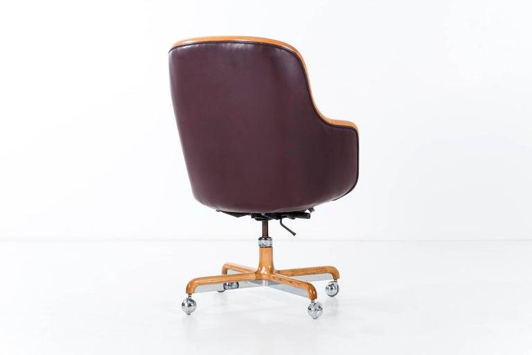 American Ward Bennett Executive Desk Chair For Sale