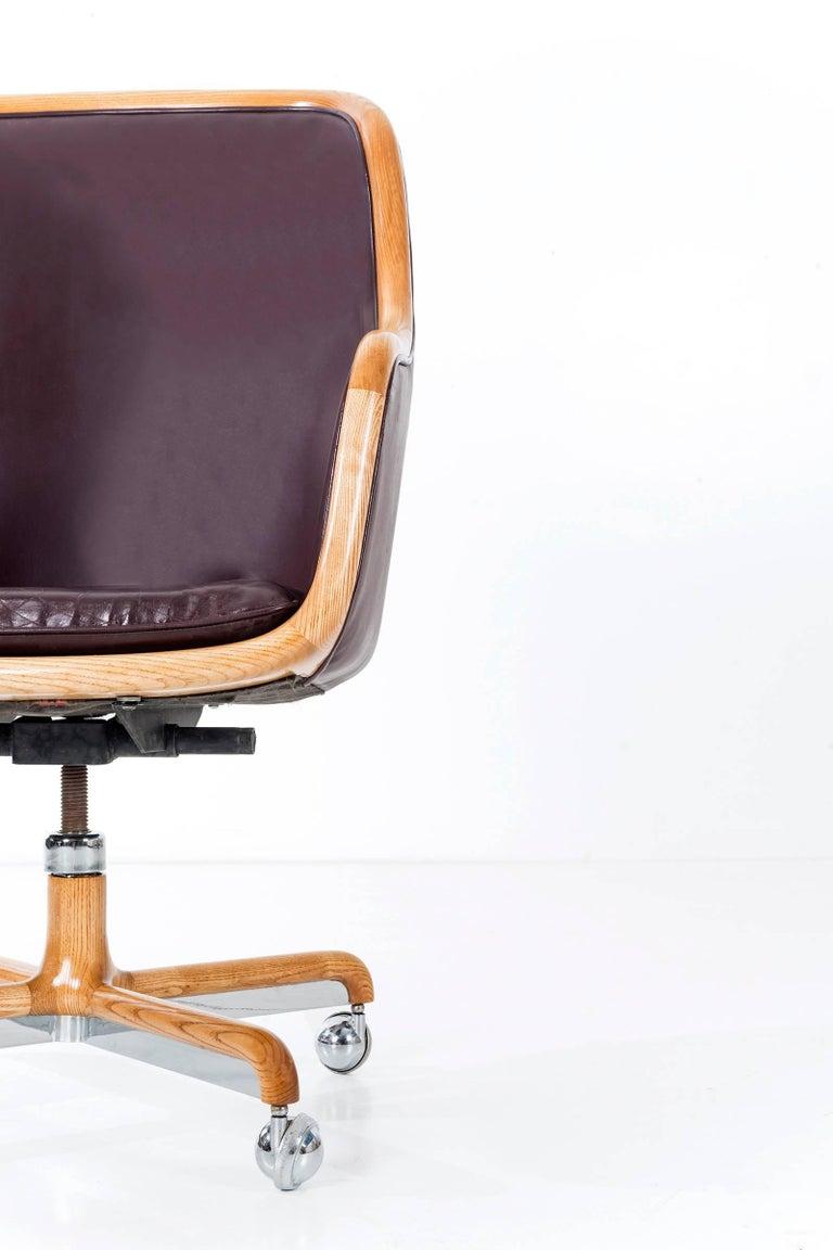 Ward Bennett Executive Desk Chair For Sale 2