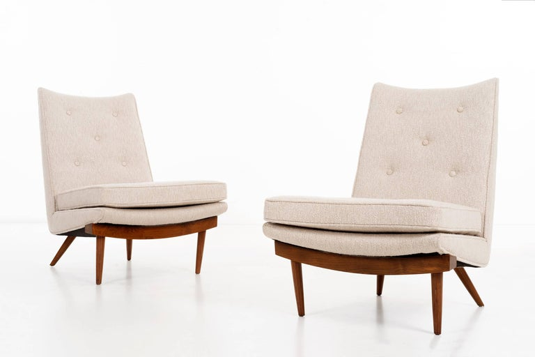 Mid-Century Modern George Nakashima Lounge Chairs For Sale
