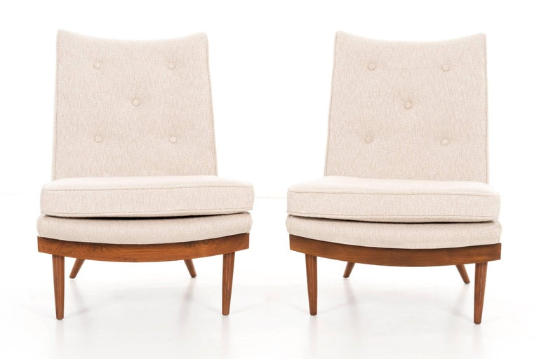 George Nakashima Lounge Chairs In Excellent Condition For Sale In Chicago, IL