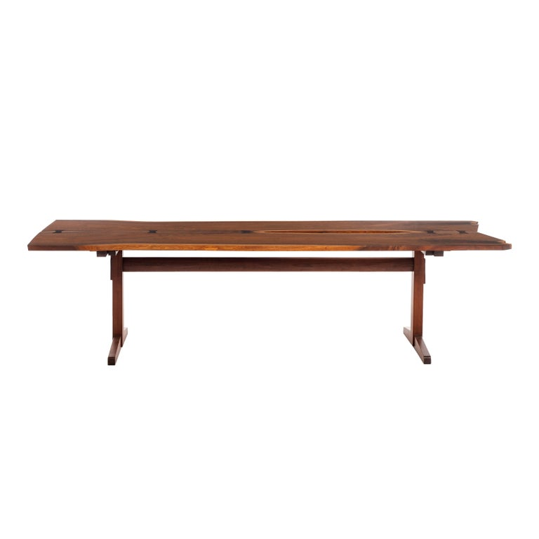 George Nakashima Trestle Table For Sale