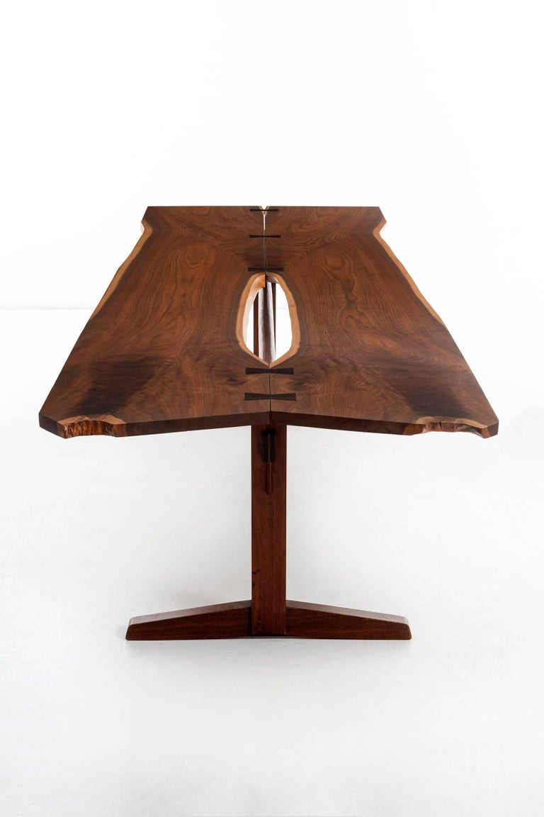 George Nakashima Trestle Table For Sale 2