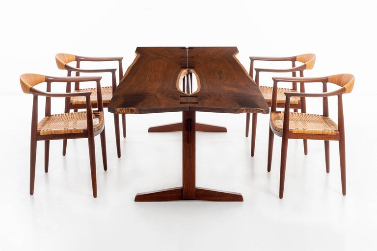 George Nakashima Trestle Table For Sale 5