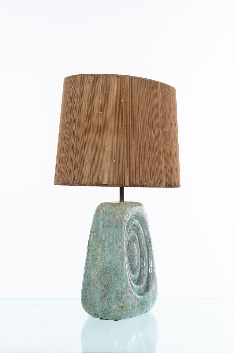 Mid-Century Modern Early Marcello Fantoni Table Lamp For Sale