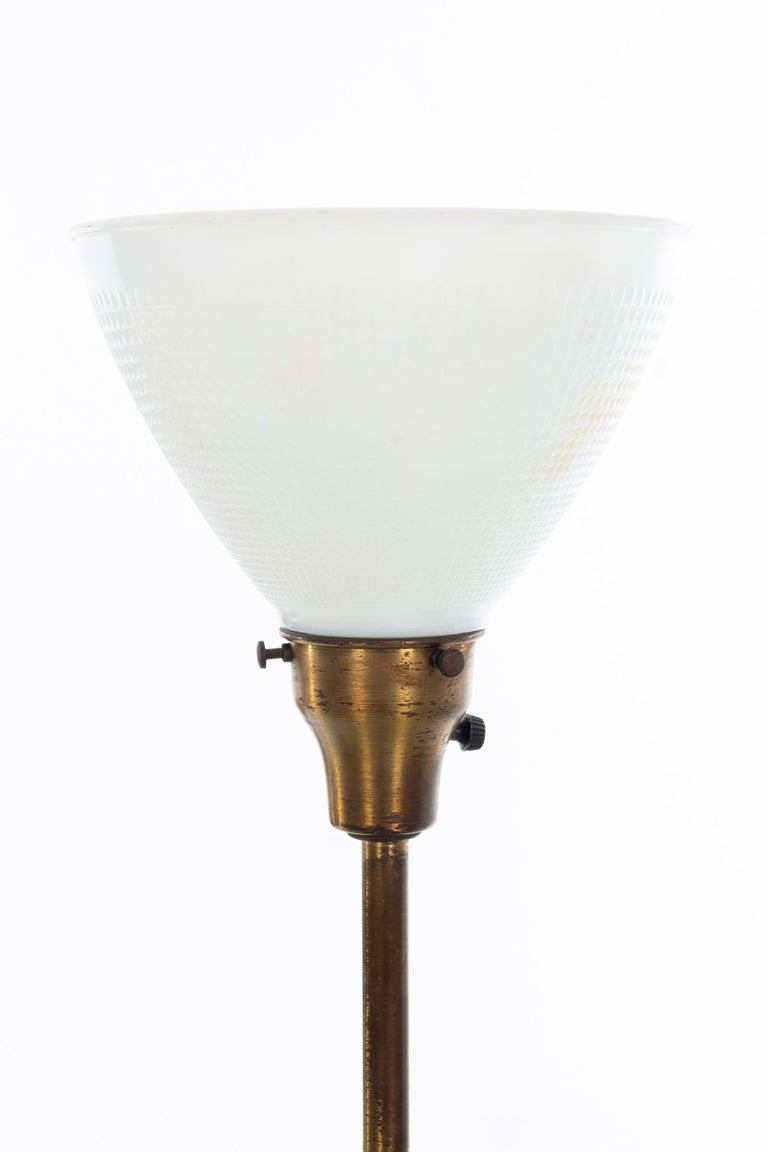 Glazed Early Marcello Fantoni Table Lamp For Sale